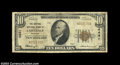 National Bank Notes:Missouri, Carthage, MO - $10 1929 Ty. 1 The Central NB Ch. # ...
