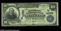 National Bank Notes:Montana, Butte City, MT - $10 1902 Plain Back Fr. 627 The Silver ...