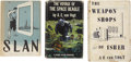Books:First Editions, A.E. van Vogt. Three First Editions, One Signed by the Author,including:... (Total: 3 Items)