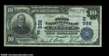 National Bank Notes:Pennsylvania, Chester, PA - $10 1902 Plain Back Fr. 624 The First NB ...