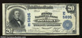 National Bank Notes:Pennsylvania, Donora, PA - $20 1902 Plain Back Fr. 659 The First NB ...