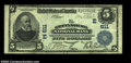 National Bank Notes:Pennsylvania, Gettysburg, PA - $5 1902 Plain Back Fr. 598 The ...