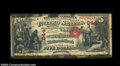 National Bank Notes:Pennsylvania, Honesdale, PA - $5 Original Fr. 397 The Honesdale NB ...