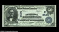 National Bank Notes:Pennsylvania, Lyndora, PA - $50 1902 Date Back Fr. 669 Lyndora NB Ch....