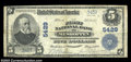 National Bank Notes:Pennsylvania, Meshoppen, PA - $5 1902 Plain Back Fr. 607 The First NB