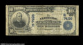 National Bank Notes:Pennsylvania, Nanticoke, PA - $10 1902 Plain Back Fr. 624 The ...