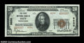 National Bank Notes:Pennsylvania, Oley, PA - $20 1929 Ty. 2 The First NB Ch. # 8858