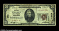 National Bank Notes:Pennsylvania, Osceola, PA - $20 1929 Ty. 1 The First NB Ch. # 6501