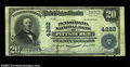 National Bank Notes:Pennsylvania, Pittsburgh, PA - $20 1902 Plain Back Fr. 653 The ...
