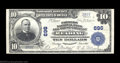 National Bank Notes:Pennsylvania, Reading, PA - $10 1902 Plain Back Fr. 624 Farmers NB & ...