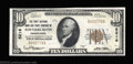 National Bank Notes:Pennsylvania, Schuylkill Haven, PA - $10 1929 Ty. 1 The First NB & TC