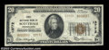 National Bank Notes:Pennsylvania, Scottdale, PA - $20 1929 Ty. 2 The First NB Ch. # ...