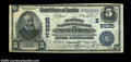 National Bank Notes:Pennsylvania, Scranton, PA - $5 1902 Date Back Fr. 591 The Peoples NB