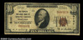 National Bank Notes:Pennsylvania, Spring Grove, PA - $10 1929 Ty. 1 The Peoples NB Ch. # ...