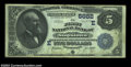 National Bank Notes:Pennsylvania, Stoystown, PA - $5 1882 Date Back Fr. 537 The First NB ...
