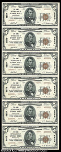 National Bank Notes:Pennsylvania, Union City, PA - $5 1929 Ty. 2 The Home NB Ch. # 8879 ...