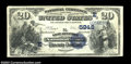 National Bank Notes:Pennsylvania, West Alexander, PA - $20 1882 Value Back Fr. 581 The ...