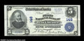 National Bank Notes:Pennsylvania, West Chester, PA - $5 1902 Plain Back Fr. 598 The First ...