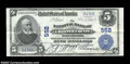 National Bank Notes:Pennsylvania, West Chester, PA - $5 1902 Plain Back Fr. 598 The NB of ...