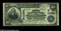 National Bank Notes:Pennsylvania, Woodlawn, PA - $10 1902 Plain Back Fr. 632 The First NB