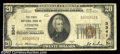 National Bank Notes:Tennessee, Athens, TN - $20 1929 Ty. 1 First NB Ch. # 3341