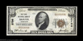 National Bank Notes:Tennessee, Bristol, TN - $10 1929 Ty. 1 First NB Ch. # 2796