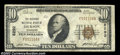 National Bank Notes:Tennessee, Dickson, TN - $10 1929 Ty. 1 The Citizens NB Ch. # ...