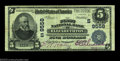 National Bank Notes:Tennessee, Elizabethton, TN - $5 1902 Plain Back Fr. 600 First NB ...