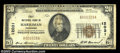 National Bank Notes:Tennessee, Harriman, TN - $20 1929 Ty. 1 First NB Ch. # 12031