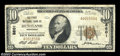 National Bank Notes:Tennessee, Huntland, TN - $10 1929 Ty. 1 The First NB Ch. # 8601