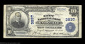 National Bank Notes:Tennessee, Knoxville, TN - $10 1902 Plain Back Fr. 626 The City NB