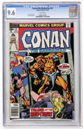 Bronze Age (1970-1979):Miscellaneous, Conan the Barbarian #67 (Marvel, 1976) CGC NM+ 9.6 White pages....