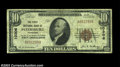 National Bank Notes:Tennessee, Petersburg, TN - $10 1929 Ty. 1 First NB Ch. # 10306
