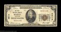 National Bank Notes:Tennessee, Sparta, TN - $20 1929 Ty. 1 First NB Ch. # 3614