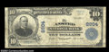 National Bank Notes:West Virginia, Ansted, WV - $10 1902 Plain Back Fr. 626 The Ansted NB ...