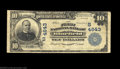 National Bank Notes:West Virginia, Bluefield, WV - $10 1902 Plain Back Fr. 628 First NB ...
