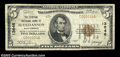 National Bank Notes:West Virginia, Buckhannon, WV - $5 1929 Ty. 1 Central NB Ch. # 13646