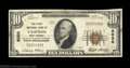 National Bank Notes:West Virginia, Cameron, WV - $10 1929 Ty. 1 The First NB Ch. # 6020