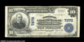 National Bank Notes:West Virginia, Charles Town , WV - $10 1902 Plain Back Fr. 624 The ...