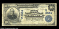 National Bank Notes:West Virginia, Chester, WV - $10 1902 Plain Back Fr. 624 The First NB ...
