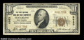 National Bank Notes:West Virginia, Elm Grove, WV - $10 1929 Ty. 2 The First NB & TC Ch. # ...