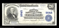 National Bank Notes:West Virginia, Fairmont, WV - $20 1902 Plain Back Fr. 653 The Peoples ...