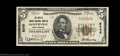 National Bank Notes:West Virginia, Fayetteville, WV - $5 1929 Ty. 1 Fayette County NB Ch. ...