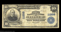 National Bank Notes:West Virginia, Iaeger, WV - $10 1902 Plain Back Fr. 632 The First NB ...