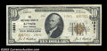 National Bank Notes:West Virginia, Keyser, WV - $10 1929 Ty. 2 The NB Ch. # 13831