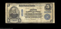 National Bank Notes:West Virginia, Keystone, WV - $5 1902 Plain Back Fr. 603 First NB Ch. ...