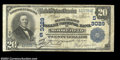 National Bank Notes:West Virginia, Moorefield, WV - $20 1902 Plain Back Fr. 650 The South ...