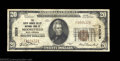 National Bank Notes:West Virginia, Moorefield, WV - $20 1929 Ty. 1 The South Branch Valley ...