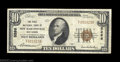 National Bank Notes:West Virginia, New Martinsville, WV - $10 1929 Ty. 1 The First NB Ch. ...
