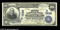 National Bank Notes:West Virginia, Newburg, WV - $10 1902 Date Back Fr. 616 The First NB ...